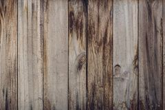 De madeira velho para a textura do fundo Fotografia de Stock Royalty Free