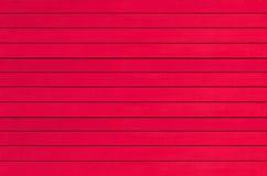 De madeira vermelho vazio para o fundo Fotos de Stock