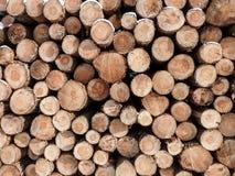 De madera abre una sesión una pila Imágenes de archivo libres de regalías