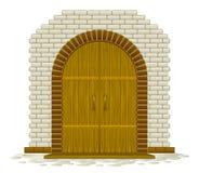De madera arqueada libre illustration