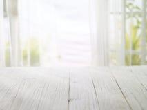 de madera con la mañana brillante Fotos de archivo libres de regalías