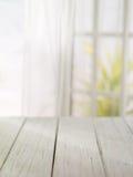 de madera con la mañana brillante Imagenes de archivo