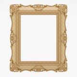 De madera plateada oro Imagenes de archivo