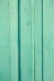De madera retro de la puerta verde Imagen de archivo