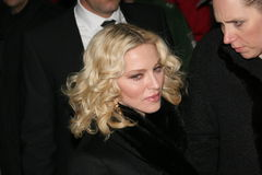 De Madonna van de zanger stock afbeelding
