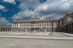 de Madrid palacio real Spain Fotografia Stock