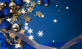 De magische achtergrond van Kerstmis stock foto