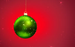 De MAGISCHE bal van Kerstmis Stock Afbeeldingen