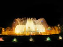 De magische fontein van Barcelona Royalty-vrije Stock Foto's