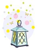 De magische lantaarn stock illustratie
