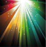 De magische Lichten van de Geheimzinnigheid Royalty-vrije Stock Foto