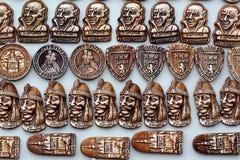 De magneten van de herinnering Stock Afbeelding