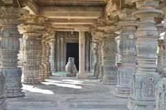 De Mahadeva-Tempel, Westelijke Chalukya, Itagi, Koppal, Karnataka Royalty-vrije Stock Afbeeldingen