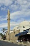 De Mahmudiyeh-Moskee, Jaffa, Israël. Royalty-vrije Stock Afbeelding