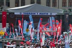 1º de maio em Istambul Foto de Stock Royalty Free