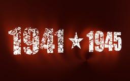 9 de maio molde do fundo de Victory Day do feriado do russo Imagem de Stock