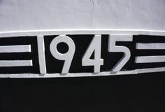 9 de maio molde do fundo de Victory Day do feriado do russo Tradução do russo da inscrição: 9 de maio Victory Day feliz 1941 e Fotografia de Stock Royalty Free