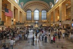 26 de maio de 2018 - New York, Estados Unidos: Interior do Grand Central Station, New York City, Estados Unidos imagem de stock