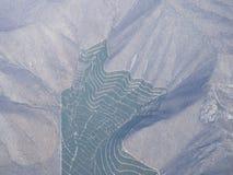 De Maipo-vallei, Santiago de Chile, Chili Royalty-vrije Stock Foto