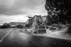 De majesteit van Zion National Park royalty-vrije stock fotografie