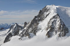 De majestueuze berg Royalty-vrije Stock Foto
