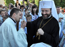 _4 de Major Archbishop Sviatoslav Shevchuk Image stock