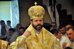 _9 de Major Archbishop Sviatoslav Shevchuk Photos stock