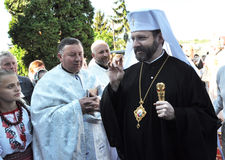 _2 de Major Archbishop Sviatoslav Shevchuk Photos libres de droits