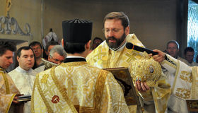 _12 de Major Archbishop Sviatoslav Shevchuk Image libre de droits