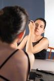 De make-up van de ballerina Royalty-vrije Stock Fotografie
