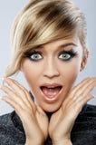 De Make-up van de veer Royalty-vrije Stock Fotografie