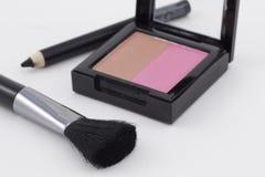 De make-up van de vrouw Stock Foto