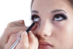 De Make-up van het oog Royalty-vrije Stock Afbeelding