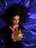 De Make-up van het theater - Heks royalty-vrije stock afbeeldingen