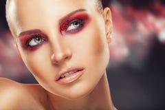 De Make-up van de manier royalty-vrije stock afbeeldingen