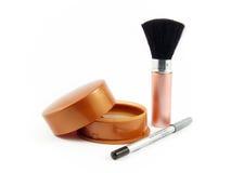 De make-up van schoonheidsmiddelen Stock Fotografie
