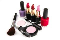De make-upreeks van Complect Stock Fotografie