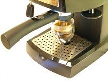 De Maker & de Koffie van de espresso stock foto
