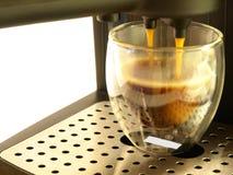 De Maker & de Koffie van de espresso royalty-vrije stock foto