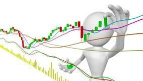 De maker van de markt vector illustratie