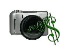 De Maker van het geld stock illustratie