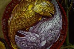 De Makreelvissen van de voedselreplica Stock Afbeelding