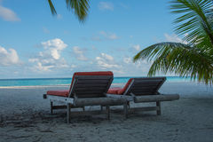 De Maldiven Kani Island April 2015 Stock Afbeeldingen