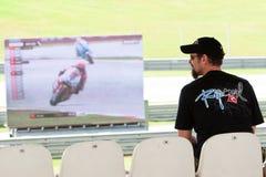 De Maleise Grand Prix 2011 van de Motorfiets Royalty-vrije Stock Fotografie