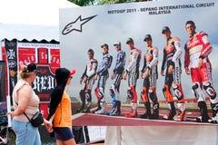 De Maleise Grand Prix 2011 van de Motorfiets Royalty-vrije Stock Afbeelding