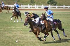 De Maleise Open Actie van het Polo Royalty-vrije Stock Afbeeldingen