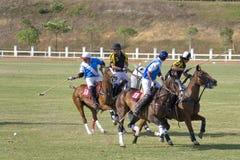 De Maleise Open Actie van het Polo Royalty-vrije Stock Fotografie