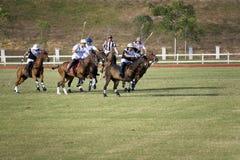 De Maleise Open Actie van het Polo Royalty-vrije Stock Foto
