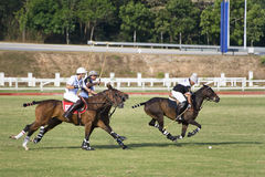 De Maleise Open Actie van het Polo Royalty-vrije Stock Afbeelding