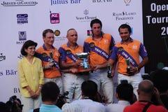 De Maleise Open Toernooien 2011 van het Polo Stock Afbeeldingen